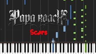 Papa Roach - Scars [Piano Tutorial] (♫)