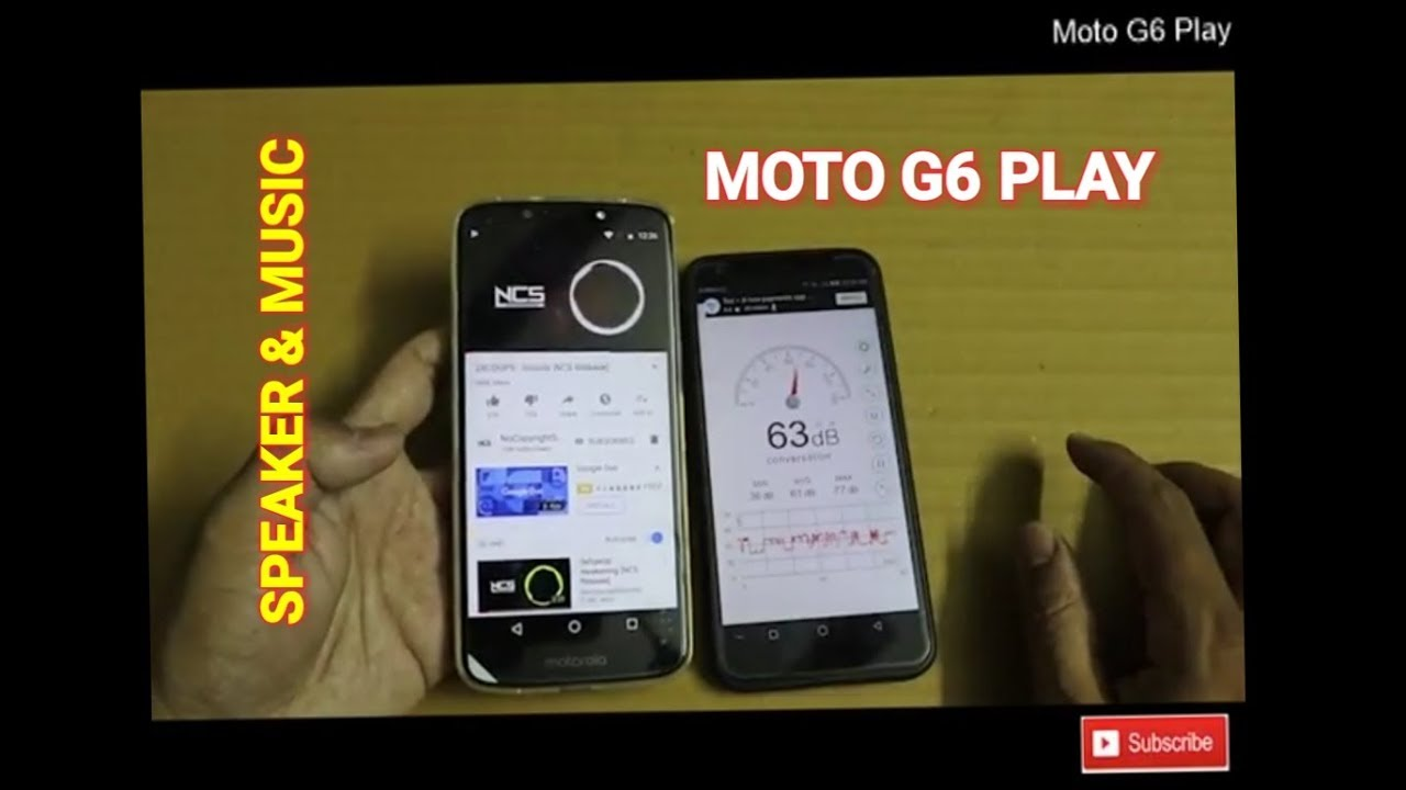 Moto G6 Play - Speaker Test | Sound Test