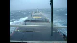 Mighty Ships: Cargo Ship In Storm Force 10/11 (part 2).wmv