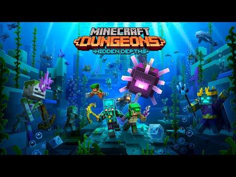 Minecraft Dungeons: Hidden Depths – Official Launch Trailer