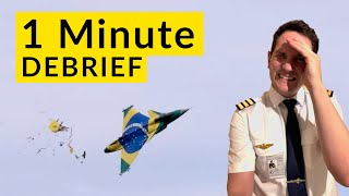AVIATION FAILS Debriefed by CAPTAIN JOE / 10 Incident-Mishaps-Funny Stuff explained 1 minute EACH!