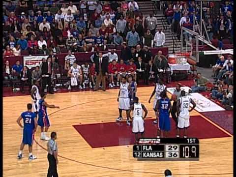 2006-07 #12 Kansas vs #1 Florida
