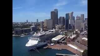 on Top of Sydney Harbour Bridge