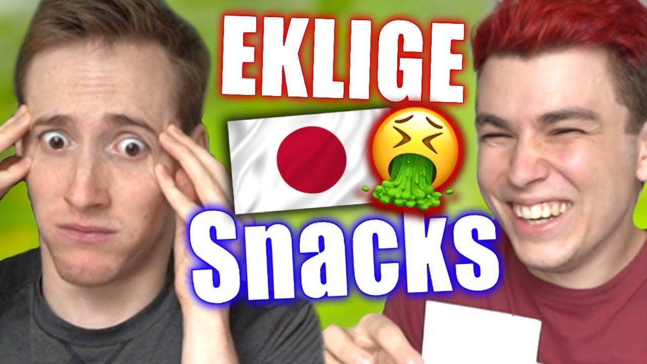 Nicht vor dem Essen schauen: Ekelhafte japanische Snacks ...