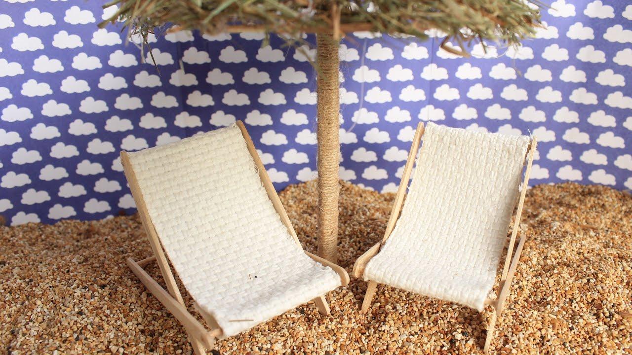 Diy How To Make A Beach Chair Cómo Hacer Una Silla De Playa