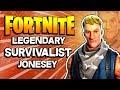 Survivalist Jonesy - Fortnite Save the World PVE 2018