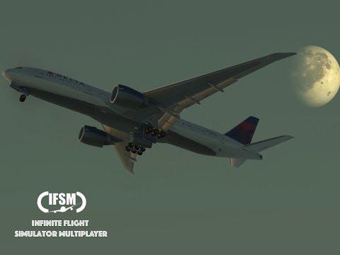 Infinite Flight Global Delta Airlines B777 - 200LR - Los angeles to New york