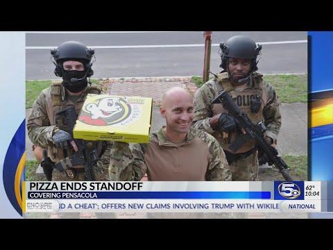 Scott Sloan - VIDEO: Standoff Ends When SWAT Team Offers Florida Suspect Pizza