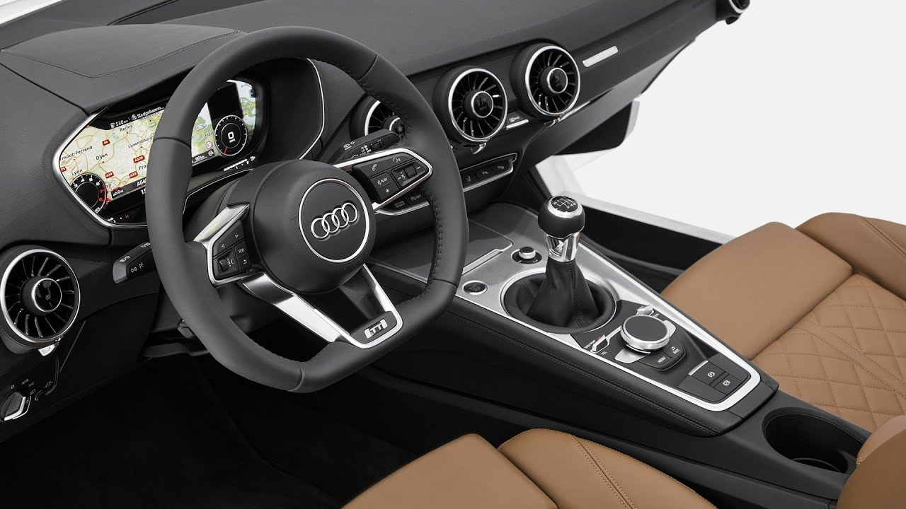 new 2015 audi tt interior world premiere at ces 2014 youtube. Black Bedroom Furniture Sets. Home Design Ideas