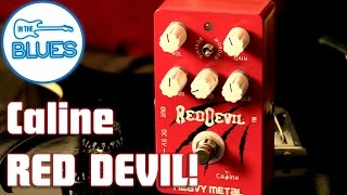 Caline Red Devil Heavy Metal Pedal