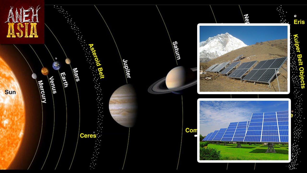 Sistem Solar   Aneh Asia
