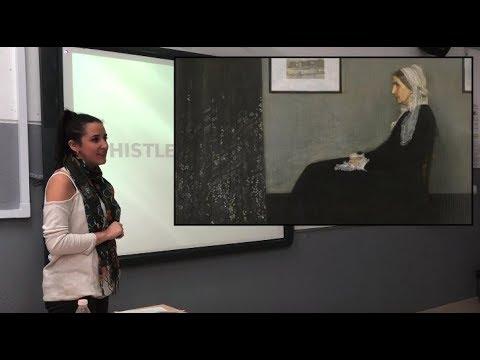 Ana Jiménez on 'Whistler's Mother'