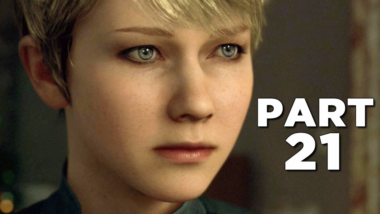 DETROIT BECOME HUMAN Walkthrough Gameplay Part 21 - LUTHER (PS4 Pro)