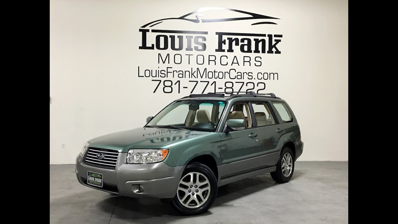 2006 subaru forester l l bean 2 5x walkaround presentation at louis frank motorcars llc in hd. Black Bedroom Furniture Sets. Home Design Ideas