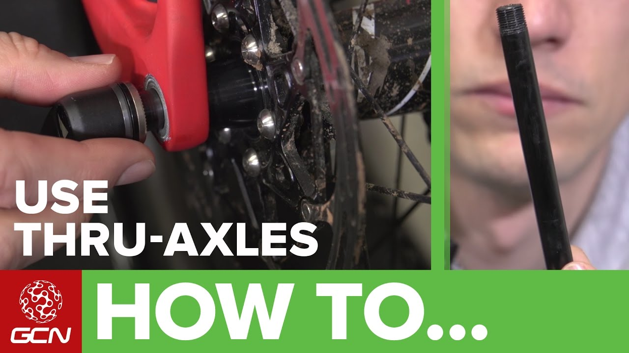 How To Use And Adjust Thru Axles On Your Road Bike