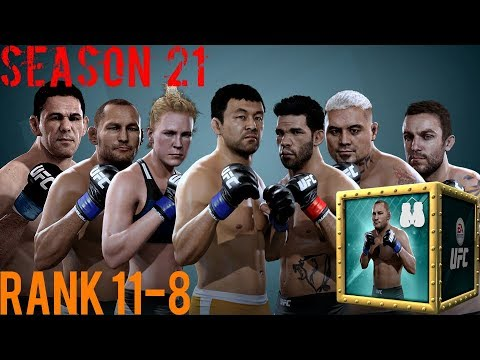 EA SPORTS UFC Mobile - H2H Season 21 Rank 11 - 8 Reward Opening!