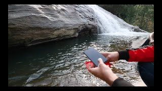DROPPED my iPhone Xs in Waterfall