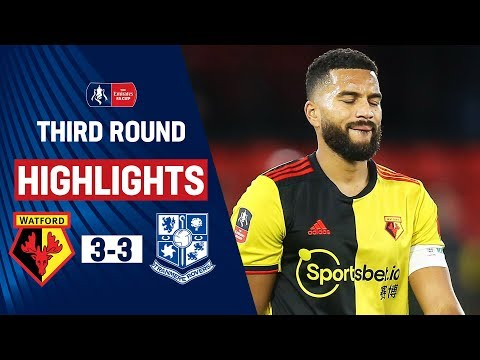 Rovers Force Replay With Crazy Comeback! | Watford 3-3 Tranmere Rovers | Emirates FA Cup 19/20