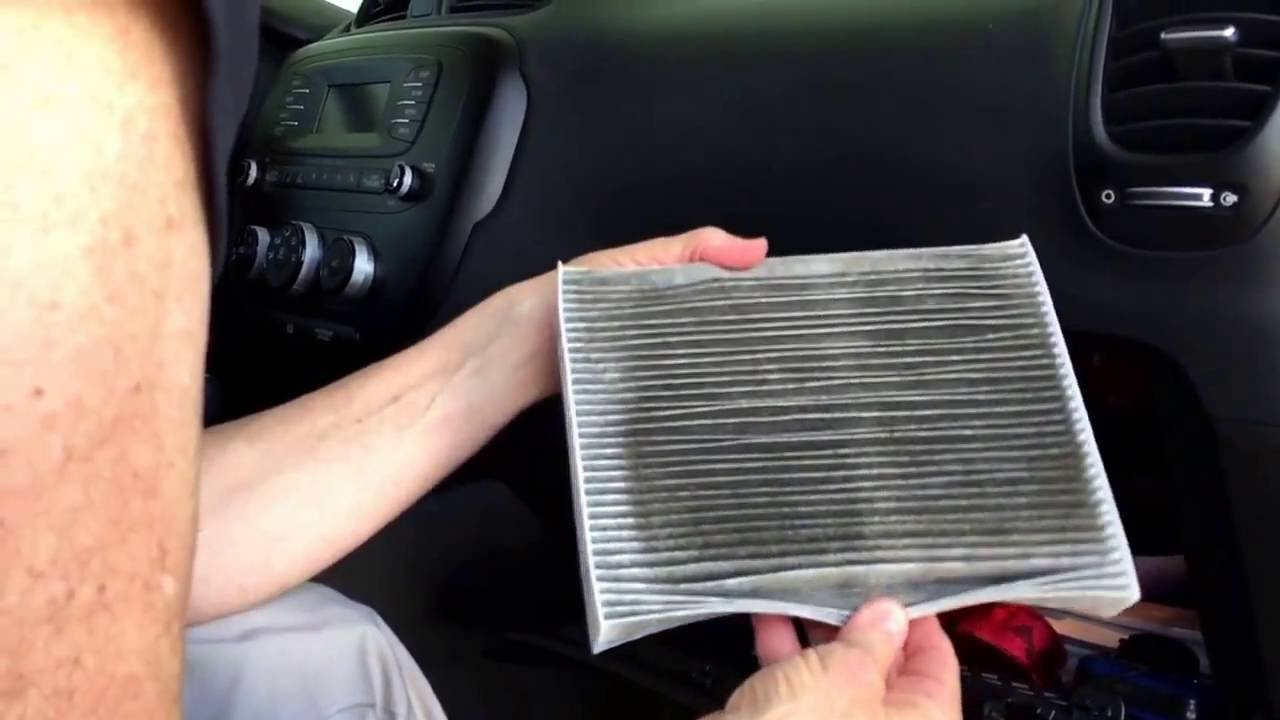 Kia Soul Cabin Air Filter Replacement In Under 5 Minutes Diy