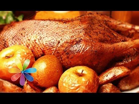 рецепты приготовление гуся