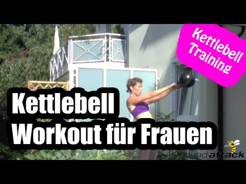 kettlebell workout f r frauen effektive bungen zur fettverbrennung kettlebell training youtube. Black Bedroom Furniture Sets. Home Design Ideas