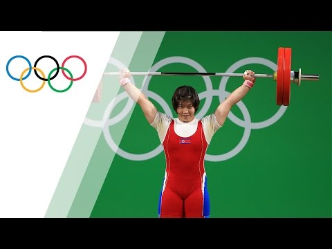 Rim takes gold in Womens 75kg Weightlifting