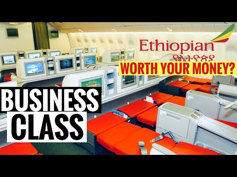 ETHIOPIAN AIRLINES BUSINESS CLASS REVIEW | ETHIOPIA TO NIGERIA  | Sassy Funke