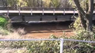 Butte County Calif. high water December 2nd 2012