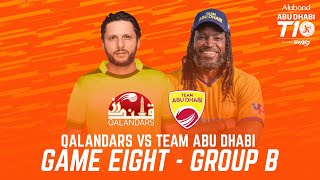 Match 8 HIGHLIGHTS I Team Abu Dhabi vs Qalandars I Day 3 I Abu Dhabi T10 I Season 4