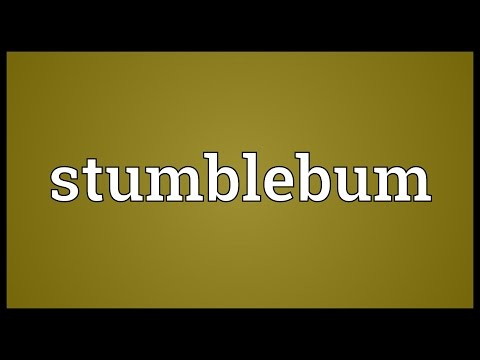 Header of stumblebum
