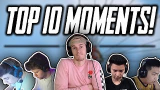 Top 10 Most Legendary RoS plays/moments!!! | Rules Of Survival