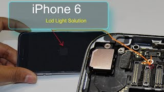 iPhone 6 Lcd Light Solution