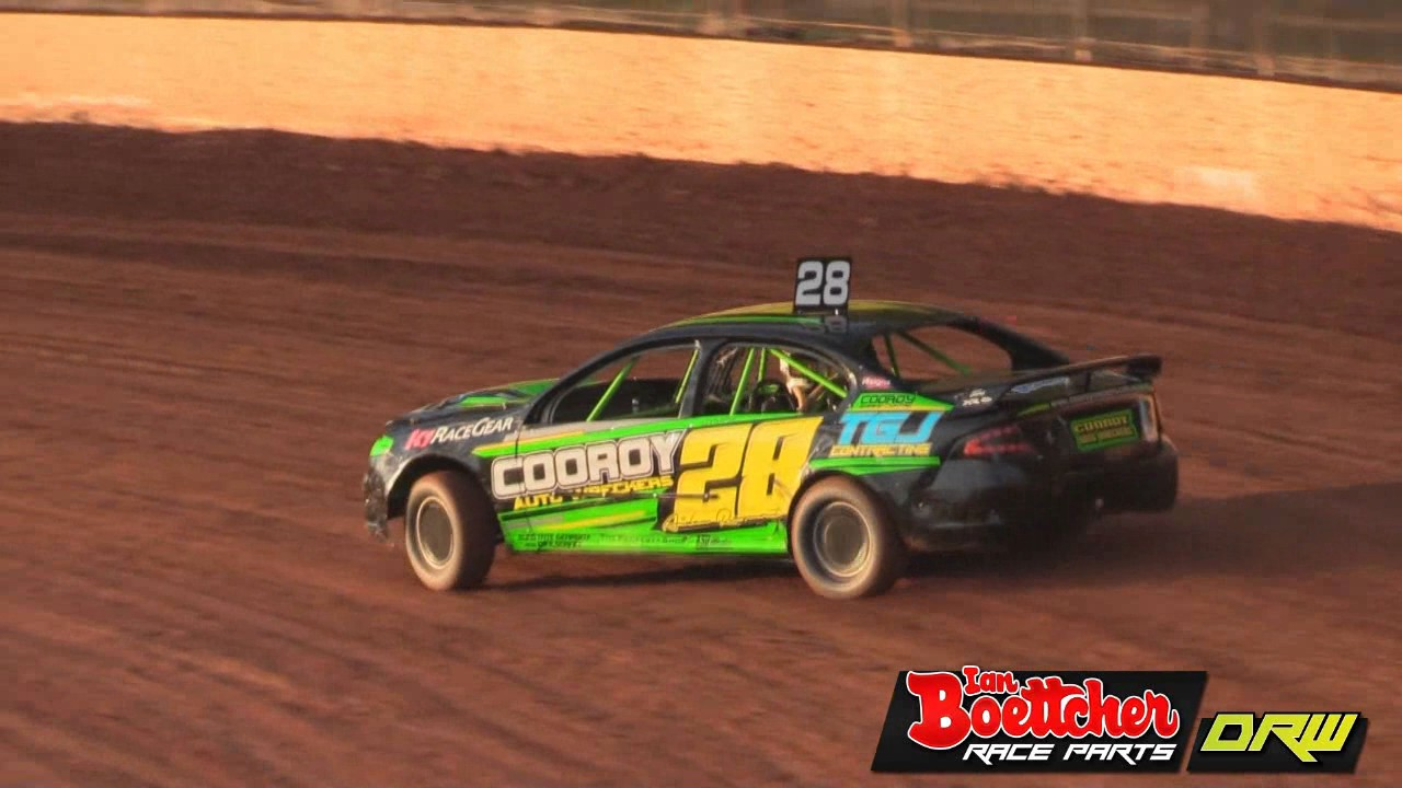 Modified Sedans Heat Ibrp Golden Helmet Series Kingaroy