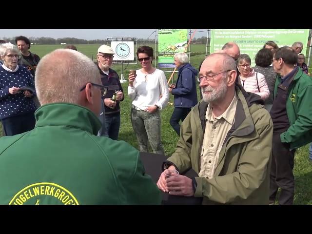 Aftermovie persconferentie Vogelwerkgroep in het open veld