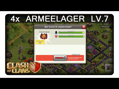 4x ARMEELAGER LV.7 || CLASH OF CLANS | Let's Play CoC | Deutsch