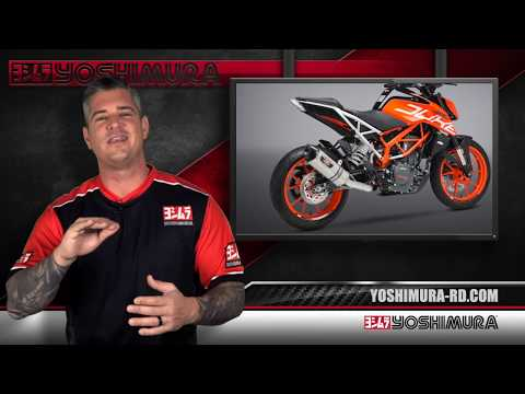 Yoshimura KTM RC  and  Duke R Race Series systems