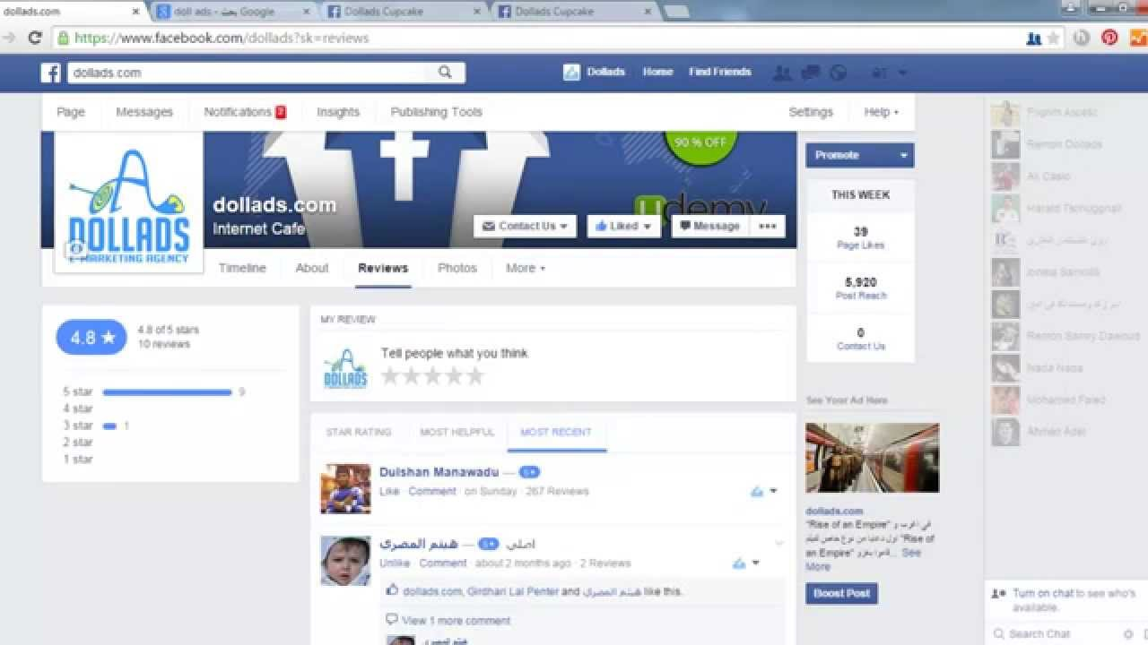 how to cancel facebook reviews on page