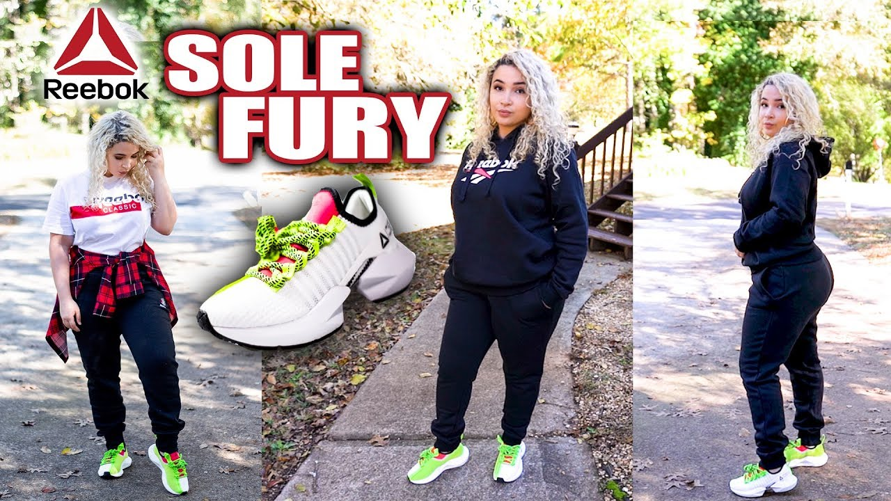 Reebok Sole Fury on Foot Review - YouTube