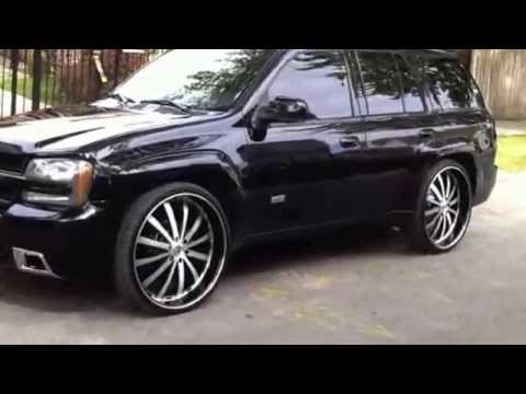 "Chevy Trailblazer SS Chicago 26"" inch Rims - YouTube"