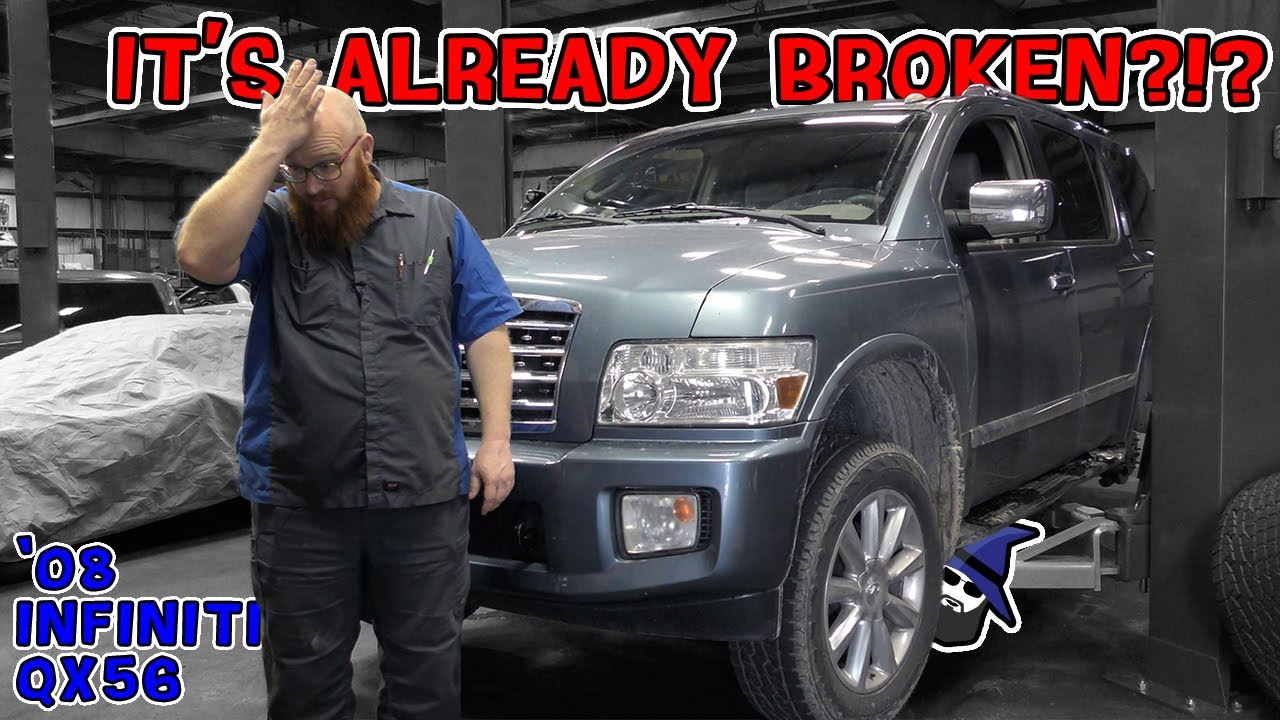 Shockingly CAR WIZARD's Infiniti QX56 is already broken?! Also which Wizard car is leaving the fleet