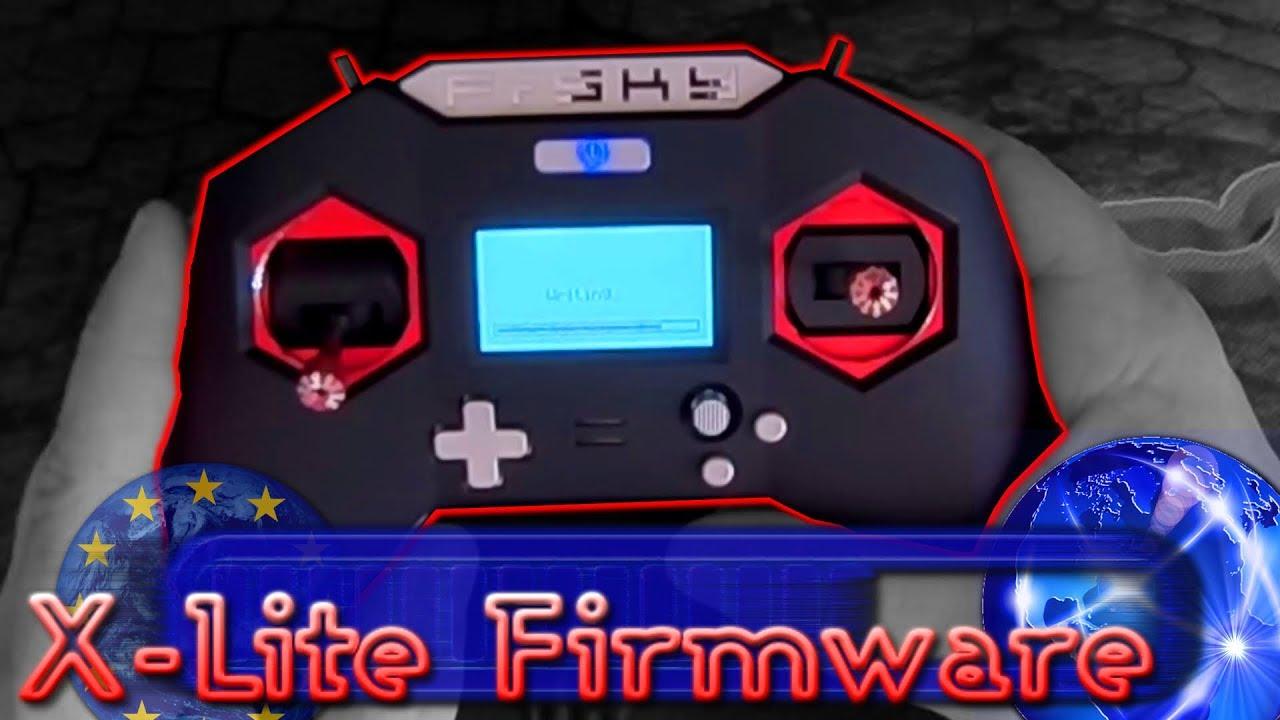 FrSky X-Lite Firmware [Flashing Firmware - Inc  EU to Int & XJT Module]