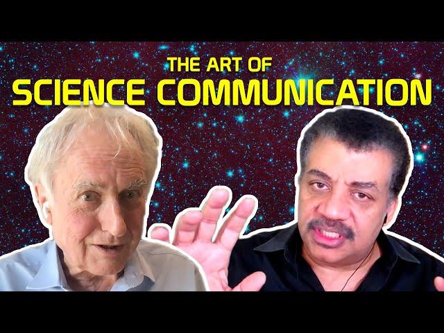 Neil deGrasse Tyson & Richard Dawkins On Science Communication, Social Media, and Persuasion