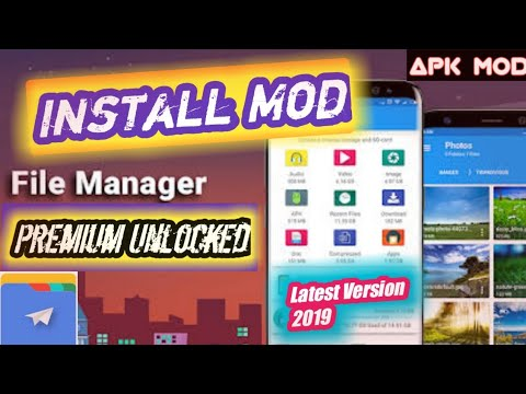 FILE MANAGER FINAL MOD 2019 | Premium Unlocked Adfree Latest Version