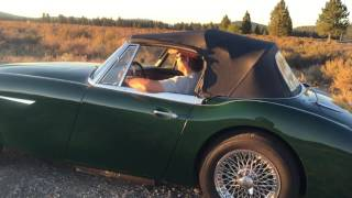 '64 Austin Healey 3000 walk around