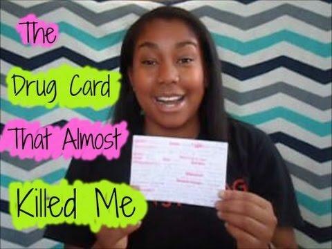 The Drug Card That Almost Killed Me: Nursing Horro - YouTube