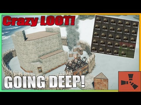 Rust - GOING DEEP on a CLAN! for Massive LOOT (Vanilla) thumbnail