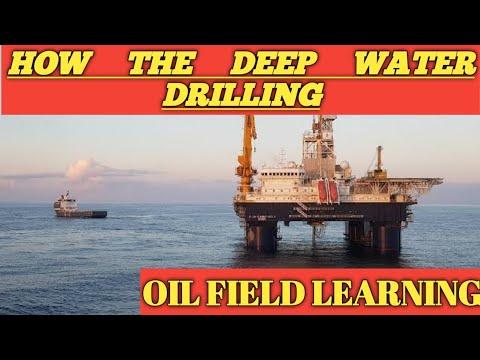 Deep water drilling process