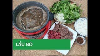 Cách nấu LẨU BÒ với mắm nêm ngon đãi khách | Món Việt