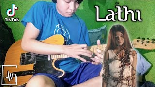 Download lagu LATHI - WEIRD GENIUS | GUITAR ROCK VERSION COVER