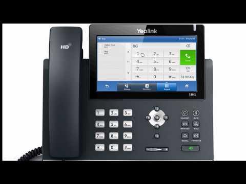 Call Park T48G Broadsoft
